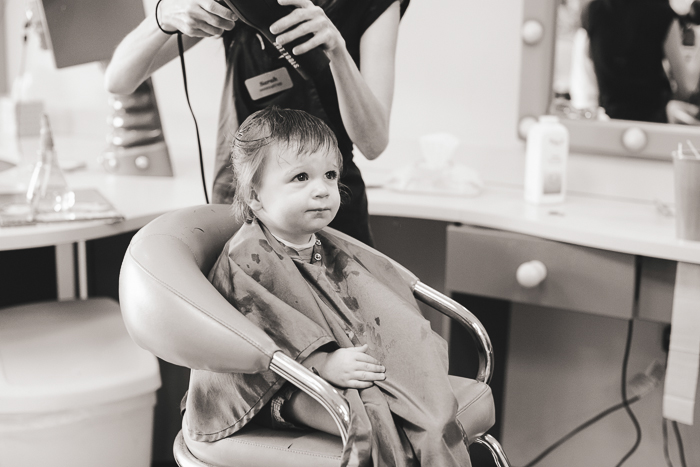 babys first haircut