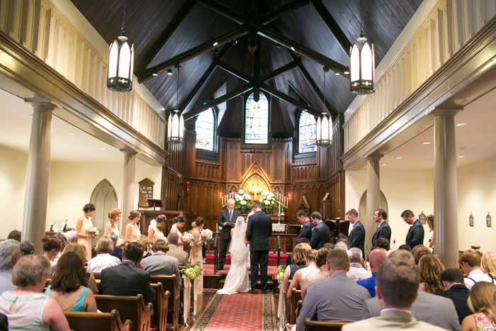 St. Paul's Episcopal Franklin Wedding