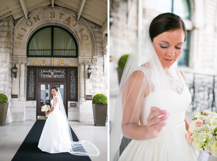 Union Station Hotel Bride
